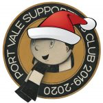 Supporters Club Christmas badge