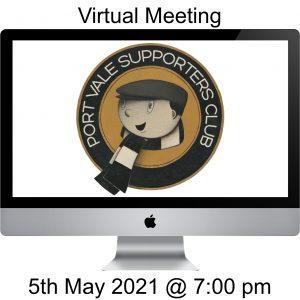 Virtual Meeting - 20210505